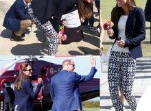 Kate-Middleton-pantaloni-Gap-blazer-Smythe-top-HM-scarpe-Monsoon-e-Sebago